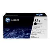 HP Q7553X 53X Black Genuine Original Printer Toner Cartridge