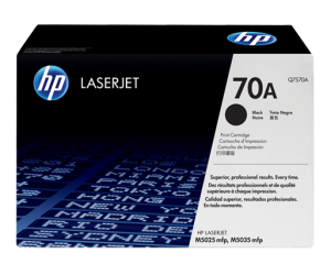 HP Q7570A 70A Black Genuine Original Printer Toner Cartridge