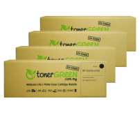TonerGreen CE255A 55A Black Compatible Printer Toner Cartridge Super Pack 4X