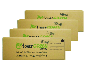 TonerGreen CE505A 05A Black Compatible Printer Toner Cartridge Super Pack 4X