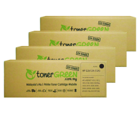 TonerGreen Q2612A 12A Black Compatible Printer Toner Cartridge Super Pack 4X