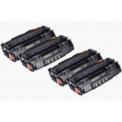 TonerGreen Q5949A 49A Black Compatible Printer Toner Cartridge Super Pack 4X