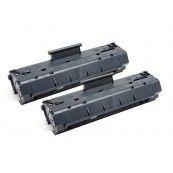 TonerGreen C4092A 92A Black Compatible Printer Toner Cartridge Value Pack 2X