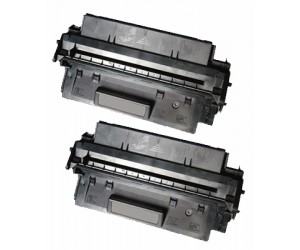TonerGreen C8061X 61X Black Compatible Printer Toner Cartridge Value Pack 2X