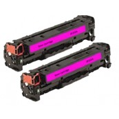 TonerGreen CF213A 131A Magenta Compatible Printer Toner Cartridge Value Pack 2X