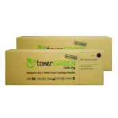 TonerGreen CE255X 55X Black Compatible Printer Toner Cartridge Value Pack 2X