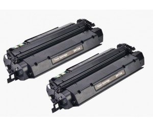 TonerGreen Q2613A 13A Black Compatible Printer Toner Cartridge Value Pack 2X