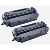 TonerGreen Q2624A 24A Black Compatible Printer Toner Cartridge Value Pack 2X