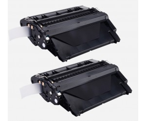 TonerGreen Q5942X 42X Black Compatible Printer Toner Cartridge Value Pack 2X