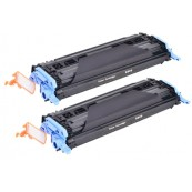 TonerGreen Q6000A 124A Black Compatible Printer Toner Cartridge Value Pack 2X