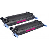 TonerGreen Q6473A 502A Magenta Compatible Printer Toner Cartridge Value Pack 2X