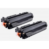 TonerGreen Q6511A 11A Black Compatible Printer Toner Cartridge Value Pack 2X