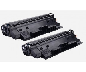 TonerGreen Q7516A 16A Black Compatible Printer Toner Cartridge Value Pack 2X
