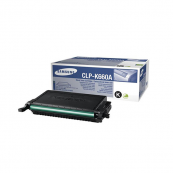 Samsung CLP-K660A Black Genuine Original Printer Toner Cartridge
