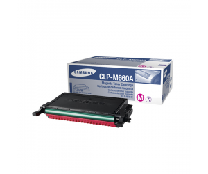Samsung CLP-M660A Magenta Genuine Original Printer Toner Cartridge