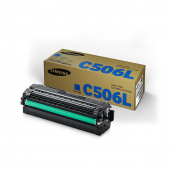 Samsung CLT-C506L Cyan Genuine Original Printer Toner Cartridge