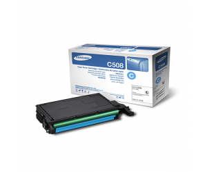 Samsung CLT-C508L Cyan Genuine Original Printer Toner Cartridge