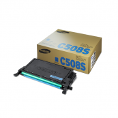 Samsung CLT-C508S Cyan Genuine Original Printer Toner Cartridge