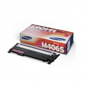 Samsung CLT-M406S Magenta Genuine Original Printer Toner Cartridge