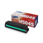 Samsung CLT-M504S Magenta Genuine Original Printer Toner Cartridge