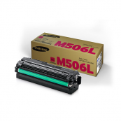 Samsung CLT-M506L Magenta Genuine Original Printer Toner Cartridge
