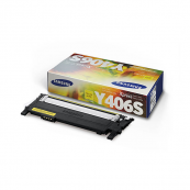 Samsung CLT-Y406S Yellow Genuine Original Printer Toner Cartridge