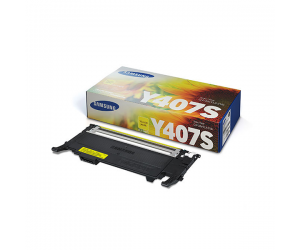 Samsung CLT-Y407S Yellow Genuine Original Printer Toner Cartridge