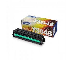 Samsung CLT-Y504S Yellow Genuine Original Printer Toner Cartridge