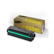Samsung CLT-Y506L Yellow Genuine Original Printer Toner Cartridge