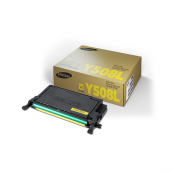 Samsung CLT-Y508L Yellow Genuine Original Printer Toner Cartridge