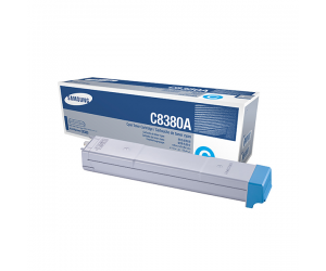 Samsung CLX-C8380A Cyan Genuine Original Printer Toner Cartridge
