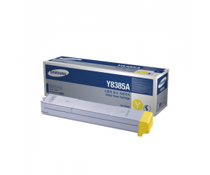 Samsung CLX-Y8385A Yellow Genuine Original Printer Toner Cartridge