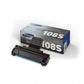 Samsung MLT-D108S Black Genuine Original Printer Toner Cartridge