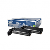 Samsung SCX-P6320A Black Genuine Original Printer Toner Cartridge Twin Pack