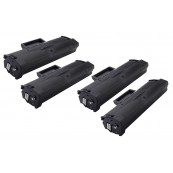 TonerGreen MLT-D101S Black Compatible Printer Toner Cartridge Super Pack 4X