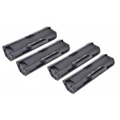 TonerGreen MLT-D104S Black Compatible Printer Toner Cartridge Super Pack 4X