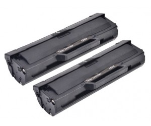 TonerGreen MLT-D104S Black Compatible Printer Toner Cartridge Value Pack 2X