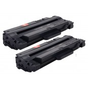 TonerGreen MLT-D105L Black Compatible Printer Toner Cartridge Value Pack 2X
