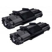 TonerGreen ML-1610 Black Compatible Printer Toner Cartridge Value Pack 2X