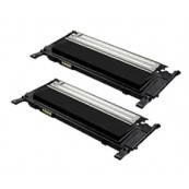 TonerGreen CLT-K409S Black Compatible Printer Toner Cartridge Value Pack 2X