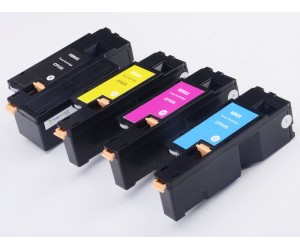 Full Pack: 4 X Fuji Xerox CP105 Printer Toner Cartridge (CMYK)