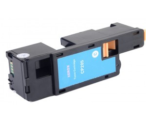 TonerGreen DocuPrint CP205 (CT201592) Cyan Compatible Printer Toner Cartridge, 1K Print Yield