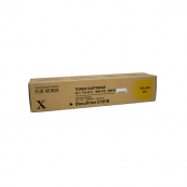 Fuji Xerox DocuPrint C1618 (CT200229) Yellow Genuine Original Printer Toner Cartridge