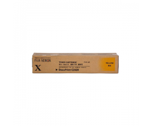 Fuji Xerox DocuPrint C2428 (CT200385) High Capacity Yellow 12K Print Yield Genuine Original Printer Toner Cartridge
