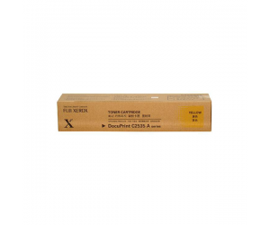 Fuji Xerox DocuPrint C2535A (CT200658) Yellow Genuine Original Printer Toner Cartridge