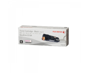 Fuji Xerox DocuPrint C2120 (CT201303) Black Genuine Original Printer Toner Cartridge