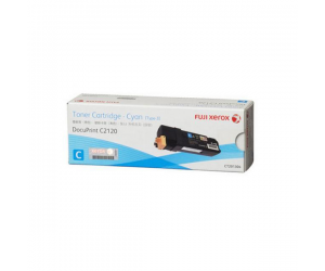 Fuji Xerox DocuPrint C2120 (CT201304) Cyan Genuine Original Printer Toner Cartridge