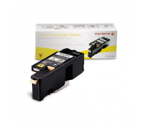 Fuji Xerox DocuPrint CP205 (CT201594) Standard Capacity Yellow 1.4K Print Yield Genuine Original Printer Toner Cartridge