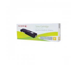 Fuji Xerox DocuPrint CP405d (CT202036) High Capacity Yellow 11K Print Yield Genuine Original Printer Toner Cartridge