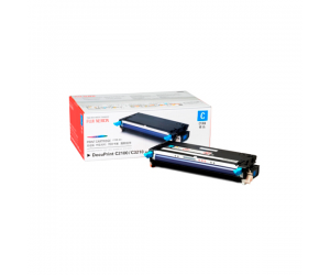 Fuji Xerox DocuPrint C2100 (CT350482) Cyan Genuine Original Printer Toner Cartridge
